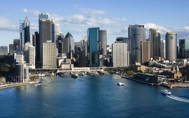 Sydney é o destino mais popular da Austrália