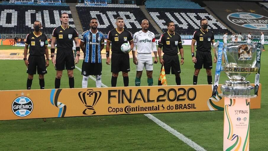 Palmeiras x Grêmio decidem a final da Copa do Brasil