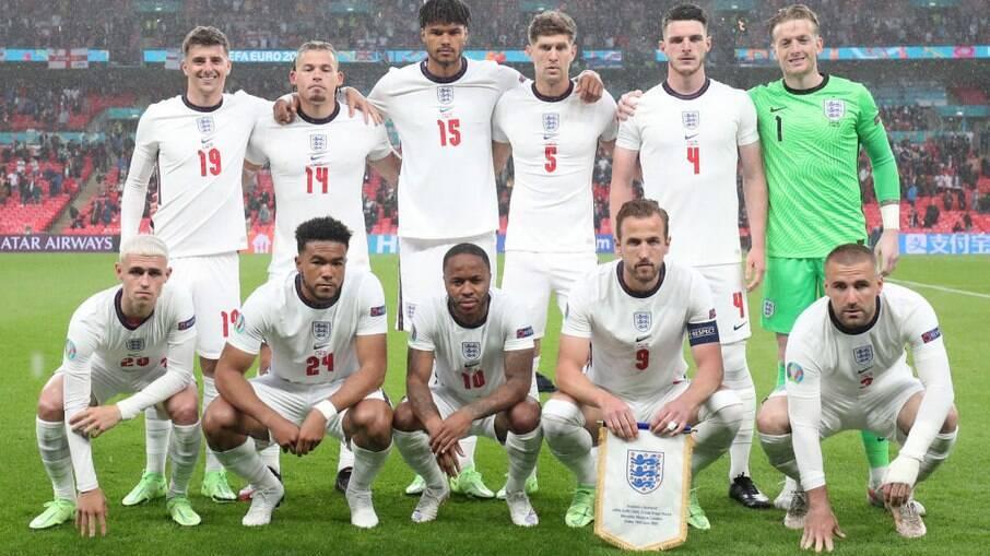 Inglaterra precisa de um empate para avançar na Eurocopa