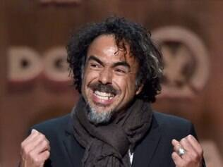 CENTURY CITY, CA - FEBRUARY 07: Director Alejandro Gonzalez Inarritu accepts the Feature Film Nomination Plaque for 'Birdman or (The Unexpected Virtue of Ignorance)' onstage at the 67th Annual Directors Guild Of America Awards at the Hyatt Regency Century Plaza on February 7, 2015 in Century City, California.   Alberto E. Rodriguez/Getty Images for DGA/AFP