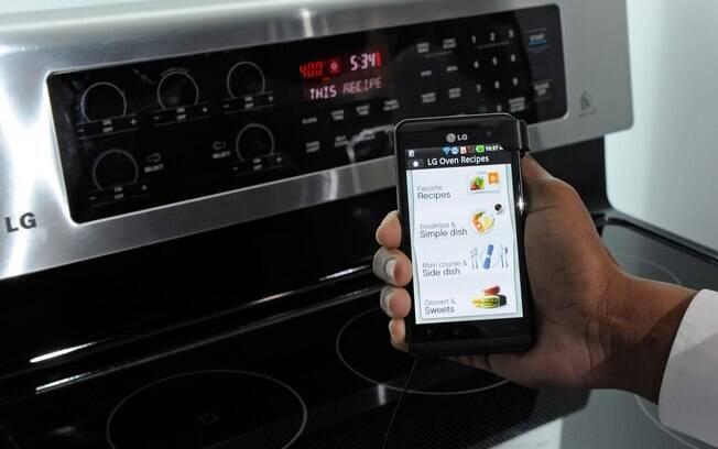 Forno da LG pode ser controlado por meio do smartphone