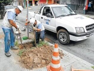 """""""Ataque"""". Quarenta equipes com dois trabalhadores cada estarão nas ruas para detectar e consertar vazamentos em menor tempo"""