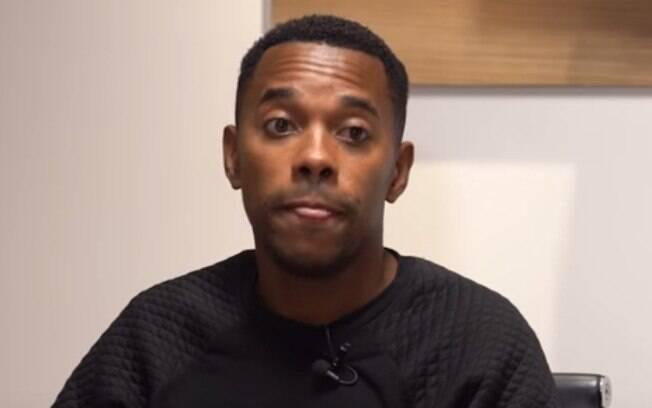 Jornalista comenta a entrevista que fez com Robinho