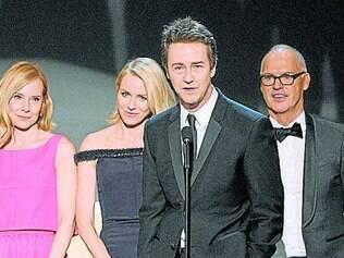 """Elenco. """"Birdman"""" levou o prêmio de melhor elenco na premiação do SAG deste ano"""