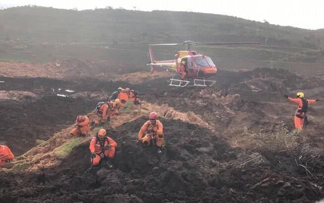 Operação de resgate encontrou mais corpos em Brumadinho