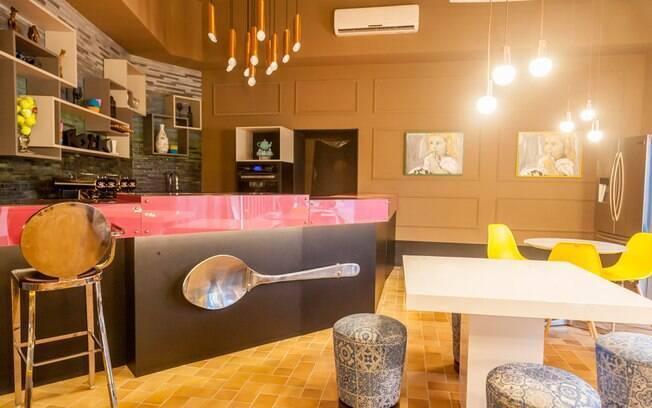Criado por Gerson Dutra de Sá e Ana Lucia Salama, Café-Bar tem 80 m²