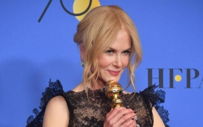 Nicole Kidman levou o prêmio de Melhor Atriz pela série