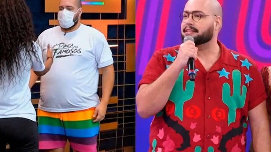 Tiago Abravanel manda recado em programa da TV Globo