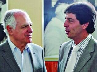 Pimenta  com Dinis Pinheiro: nome do vice em grande evento