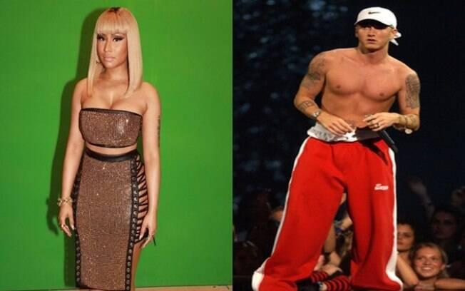 Nicki Minaj revela estar namorando o rapper americano Eminem