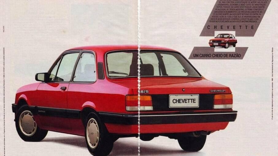 Para 1987, o Chevette ganhou a luxuosa versão SE que continha um acabamento mais primoroso e um painel mais completo