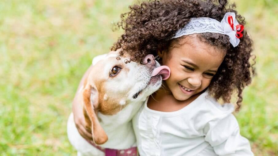Pets e crianças