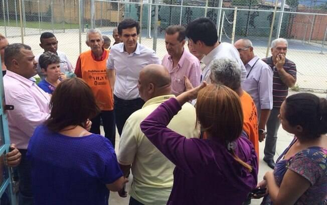 Gabriel Chalita visitou as escolas estaduais Capistrano de Abreu e Mururés, na zona leste de SP