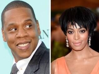 Jay Z foi furiosamente agredindo pela cunhada, Solange Knowles, a irmã mais nova de Beyoncé, no