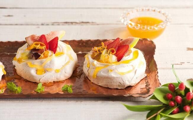 O merengue é uma receita leve perfeita para o réveillon