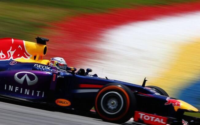 Vettel conquistou sua segunda pole da  temporada
