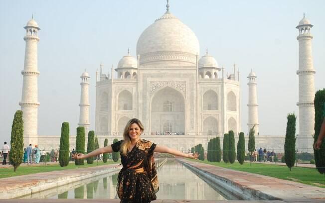 Tânia Oliveira na Índia