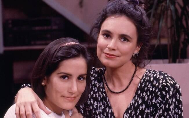 Glória Pires e Regina Duarte em