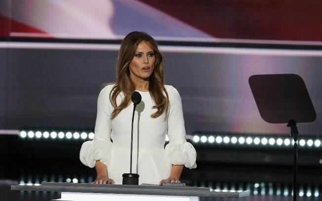 Melania Trump criticou medida de seu marido, o presidente Donald Trump