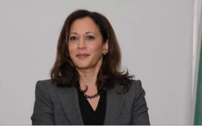 Kamala Harris é senadora pelo estado da Califórnia.
