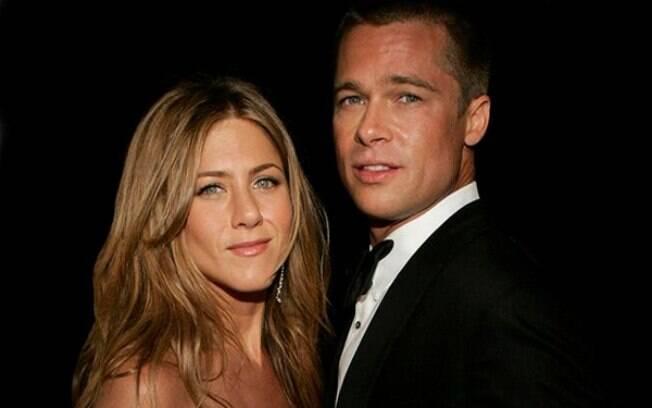 Jennifer Aniston e Brad Pitt