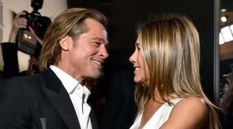 Somos amigos, diz Jennifer Aniston sobre relação com Brad Pitt