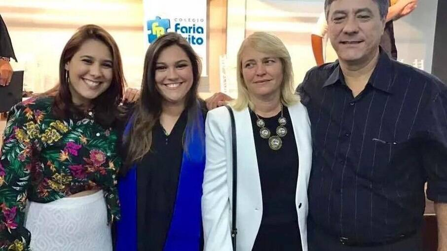 Empresário assassinado Carlos Eduardo e sua família