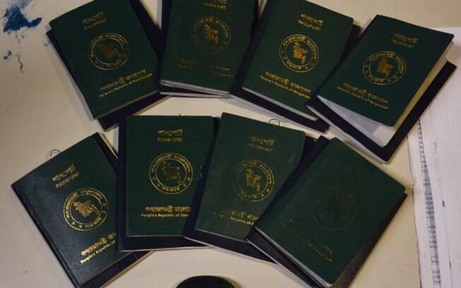 Imigrantes de Bangladesh não possuíam uma carta de transbordo, da empresa que os levaria até embarcação