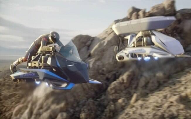 A Speeder é a primeira moto Voadora a ser vendida do mundo. Será que no futuro veremos várias delas?