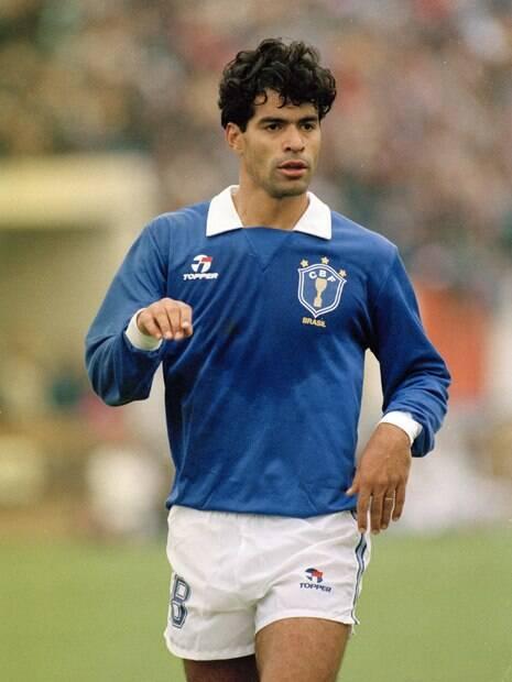 Raí na Copa América no Chile em 1991