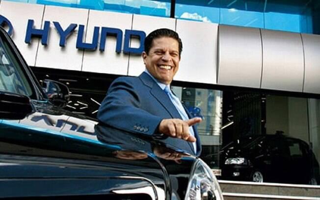 Carlos Alberto de Oliveira Andrade, o CAOA, gerencia operações de Hyundai, Chery e Subaru no Brasil