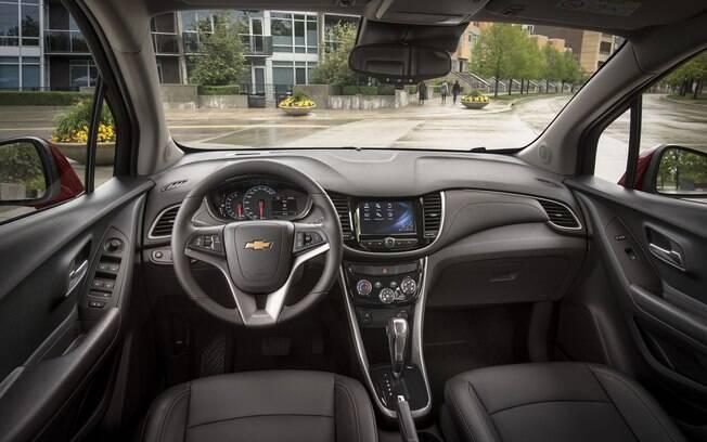 Entre os equipamentos do Chevrolet Tracker 2019, o que mais promete agradar é a central multimídia MyLink