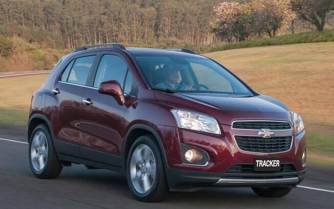 Nono SUV mais vendido, o Chevrolet Tracker é vendido com bons descontos, que chegam até R$ 9.990.