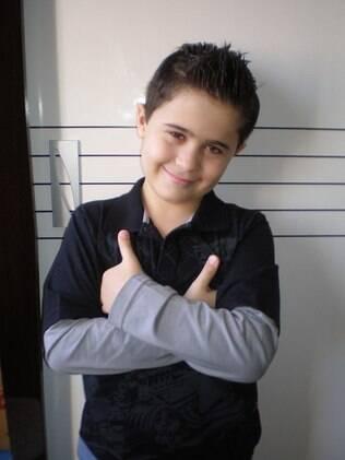 Gustavo, nove anos, mostrou-se mais desenvolvido intelectualmente que os coleguinhas de escola