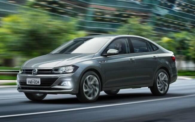 Volkswagen Virtus: um exemplo de motor eficiente, compacto e econômico. No caso, 1.0, turbo, de 128 cavalos