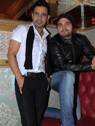 Zezé Di Camargo e Luciano lançam CD no Paris 6, em São Paulo