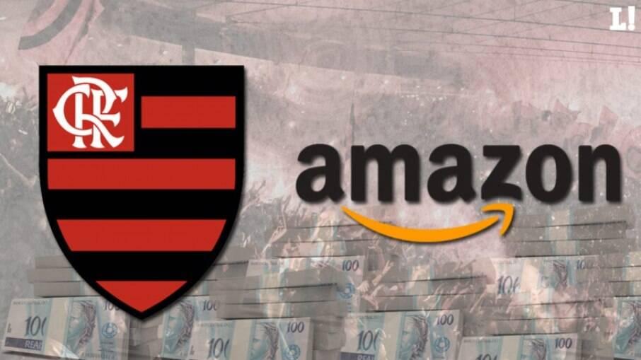 Flamengo acertou patrocínio pontual com a Amazon para a Supercopa do Brasil
