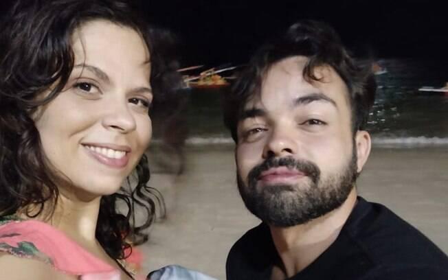 O segundo encontro do casal foi na praia de Olinda, mas havia algumas condições de segurança contra o novo coronavírus.