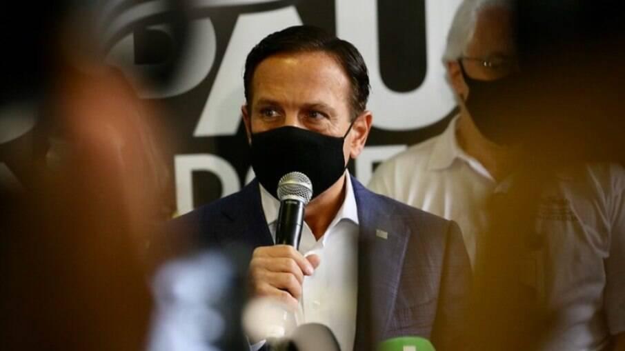 Governador de São Paulo João Doria (PSDB)