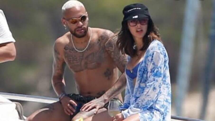 Neymar e Bruna Biancardi estão vivendo um relacionamento