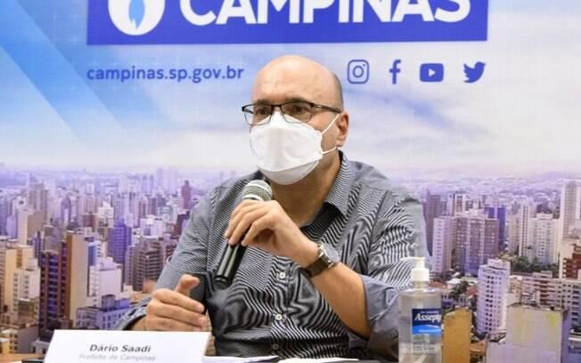 Dário faz live hoje sobre medidas de combate à pandemia de covid em Campinas