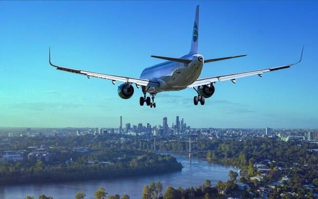 Avião tinha como destino a cidade de Salvador.