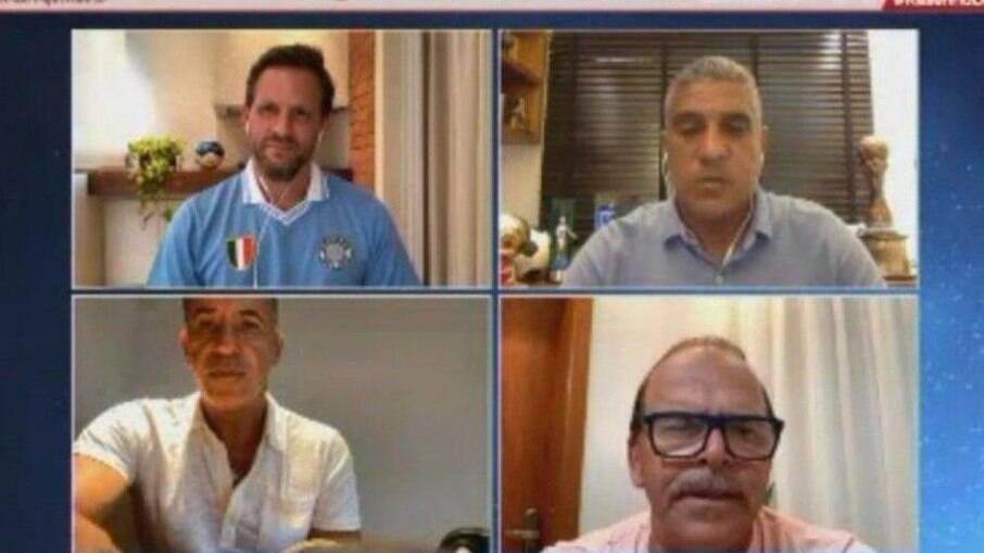 Alemão falou sobre parceria com Maradona no programa 'Resenha'