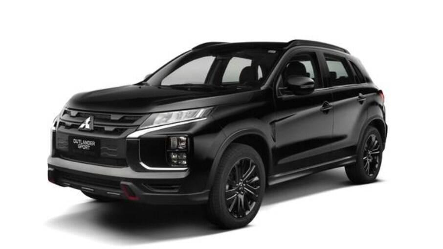 Mitsubishi Outlander Sport Black Edition é oferecido com três opções de cores de carroceria – preto, prata e branco