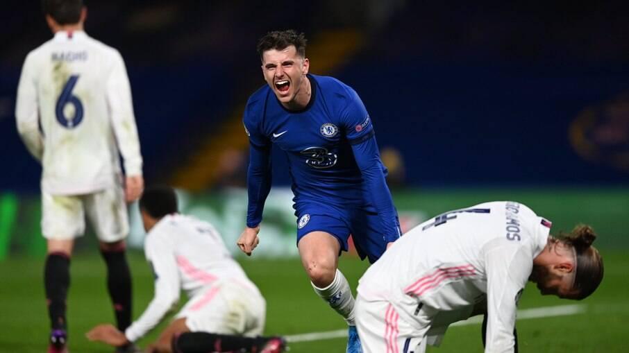 Chelsea venceu o Real Madrid por 2x0