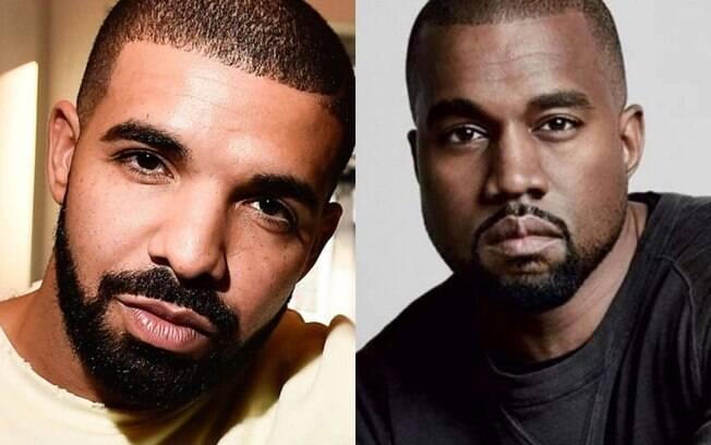 Kanye West faz série de tweets acusando Drake de ameaças