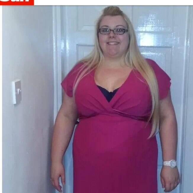 Clare tinha muitos problemas com seu peso