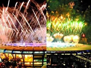 Templo. Maracanã, palco da cerimônia de abertura do Pan-Americano de 2007 (E), já estava reformado para a final da Copa neste ano