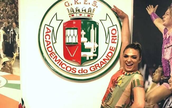 Glamour Garcia na Grande Rio