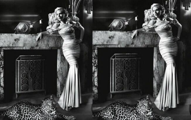 Scarlett Johansson foi fotografada por Mario Testino